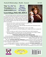 "The O, MY"" in TonsillectOMY & AdenoidectOMY: How to Prepare Your Child for Surgery - Back Cover"